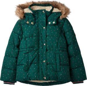 Winterjacke STELLA  dunkelgrün Gr. 92 Mädchen Kleinkinder