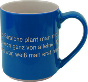 Tasse 'Astrid Lindgren' / blau