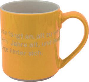 Tasse 'Astrid Lindgren' / gelb