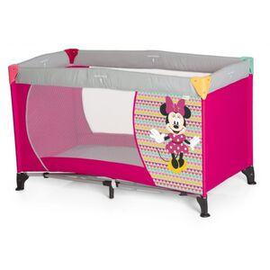 Hauck - Reisebett Dream'n Play - Minnie Mouse - Geo Pink