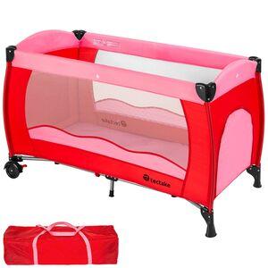 Kinderreisebett pink