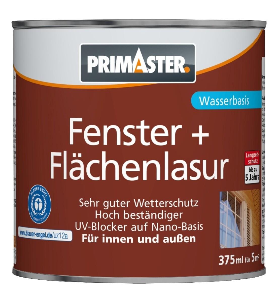 """Bild 1 von PRIMASTER Fenster- und Flächenlasur SF924 """"375 ml, nussbaum"""""""