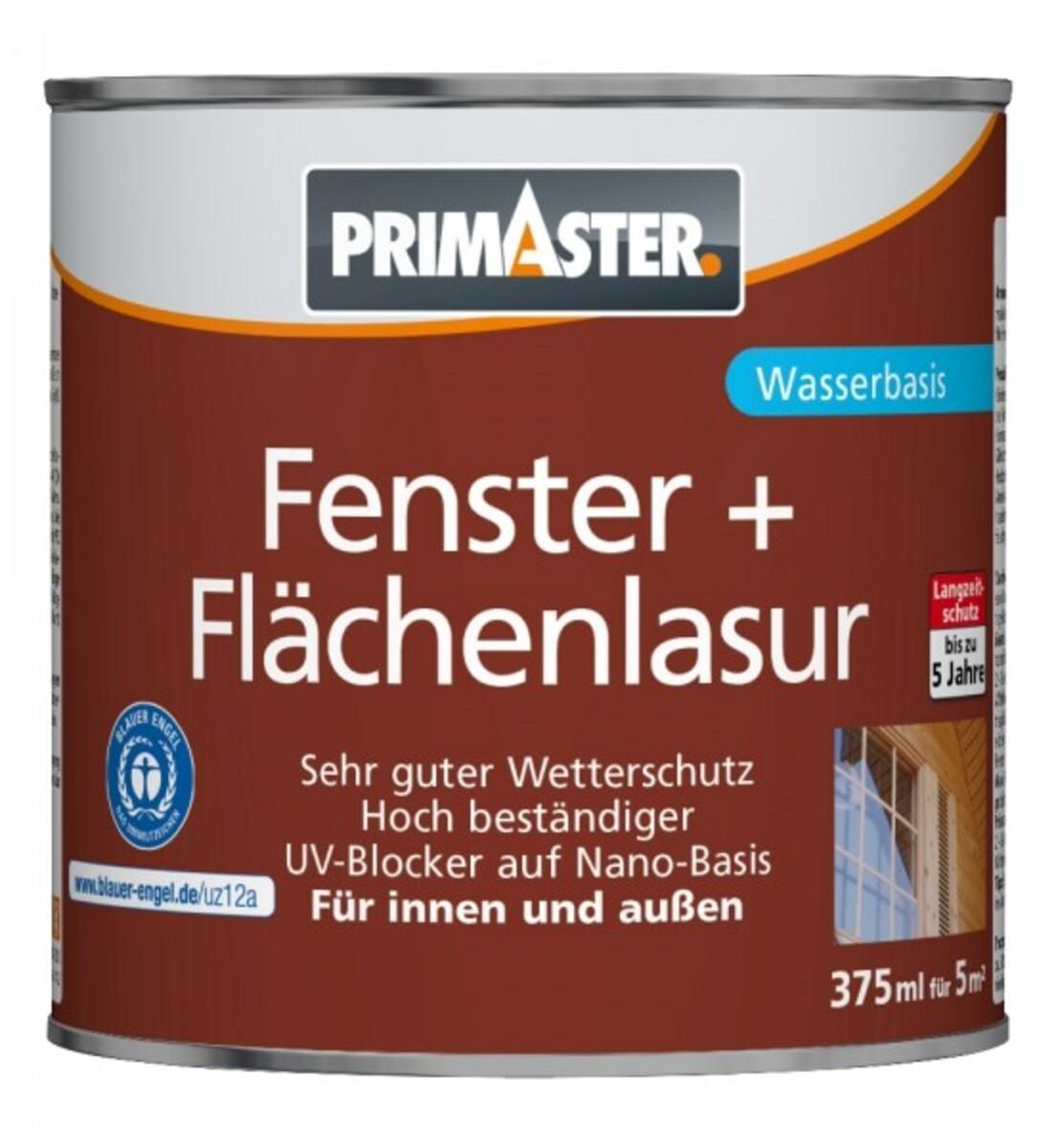 """Bild 4 von PRIMASTER Fenster- und Flächenlasur SF924 """"375 ml, nussbaum"""""""