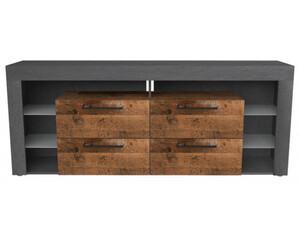 TV-Highboard Matera/Old-Wood-Nachbildung