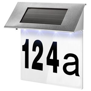 Solar Hausnummerleuchte