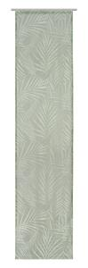Flächenvorhang Blätter in Grün ca.60x245cm