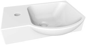 Waschbecken in Weiss aus Keramik 'Guest II'