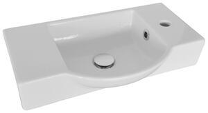 Waschbecken in Weiss aus Keramik 'Guest III'