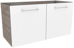 Waschtischunterschrank in Weiss/Esche 'Lima'