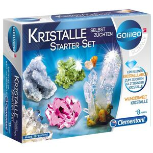 Galileo Kristalle züchten Starter Set Clementoni