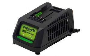 """Greenworks Lithium-Ionen Ladegerät 24 V """"für 24 V Akku, 2 und 4 AH, LED-Landestandsanzeige"""""""