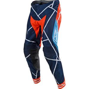 Troy Lee Designs            SE Air Pant Metric navy/orange