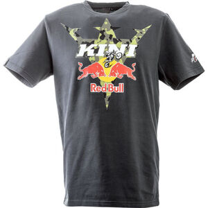 KINI Red Bull            T-Shirt Camouflage Tee anthrazit