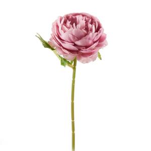 Kunstblume Rose 28 cm in Pastelllila
