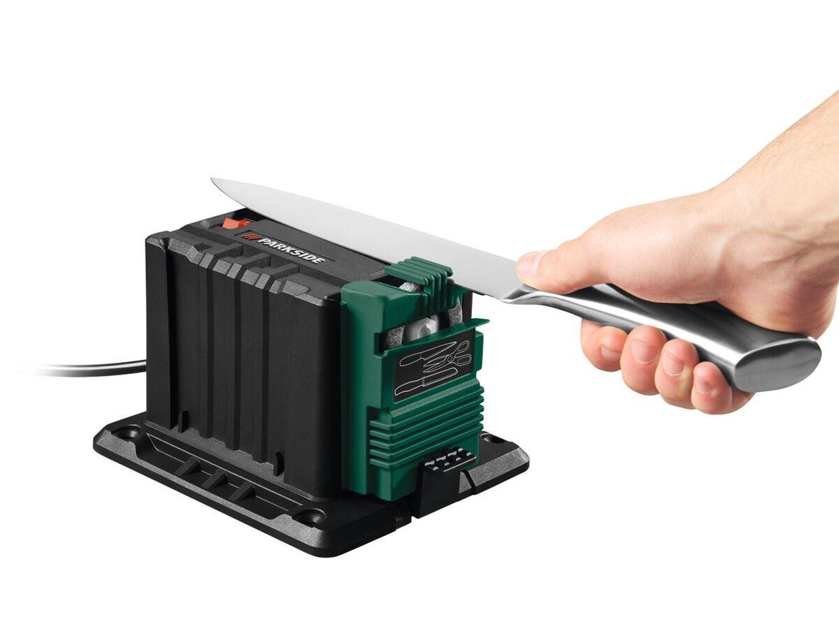 Bild 7 von PARKSIDE® Schärfstation »PSS 65«, 65 Watt, mit Funkenschutz, inklusive 3 Aufsätzen