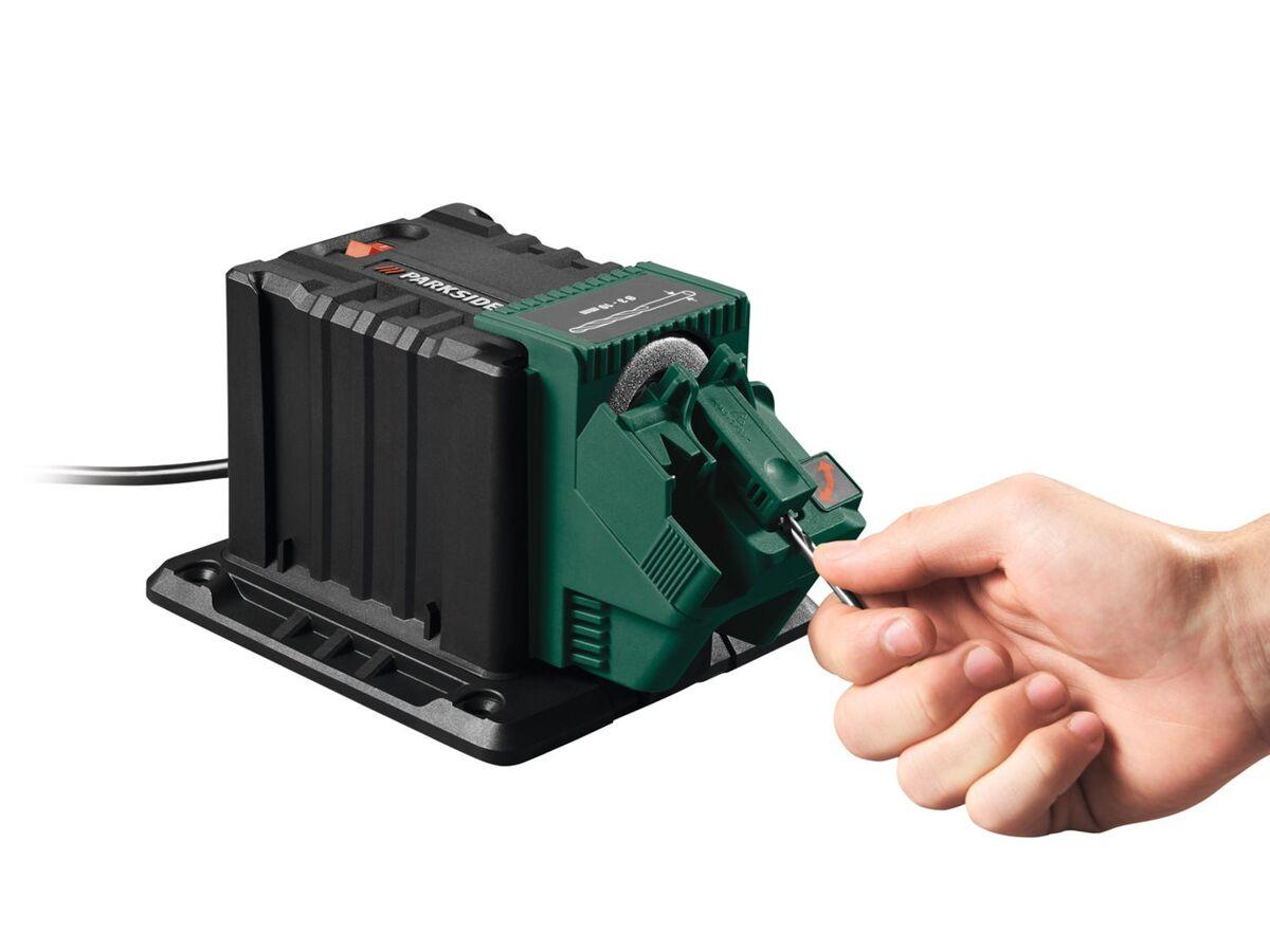 Bild 8 von PARKSIDE® Schärfstation »PSS 65«, 65 Watt, mit Funkenschutz, inklusive 3 Aufsätzen
