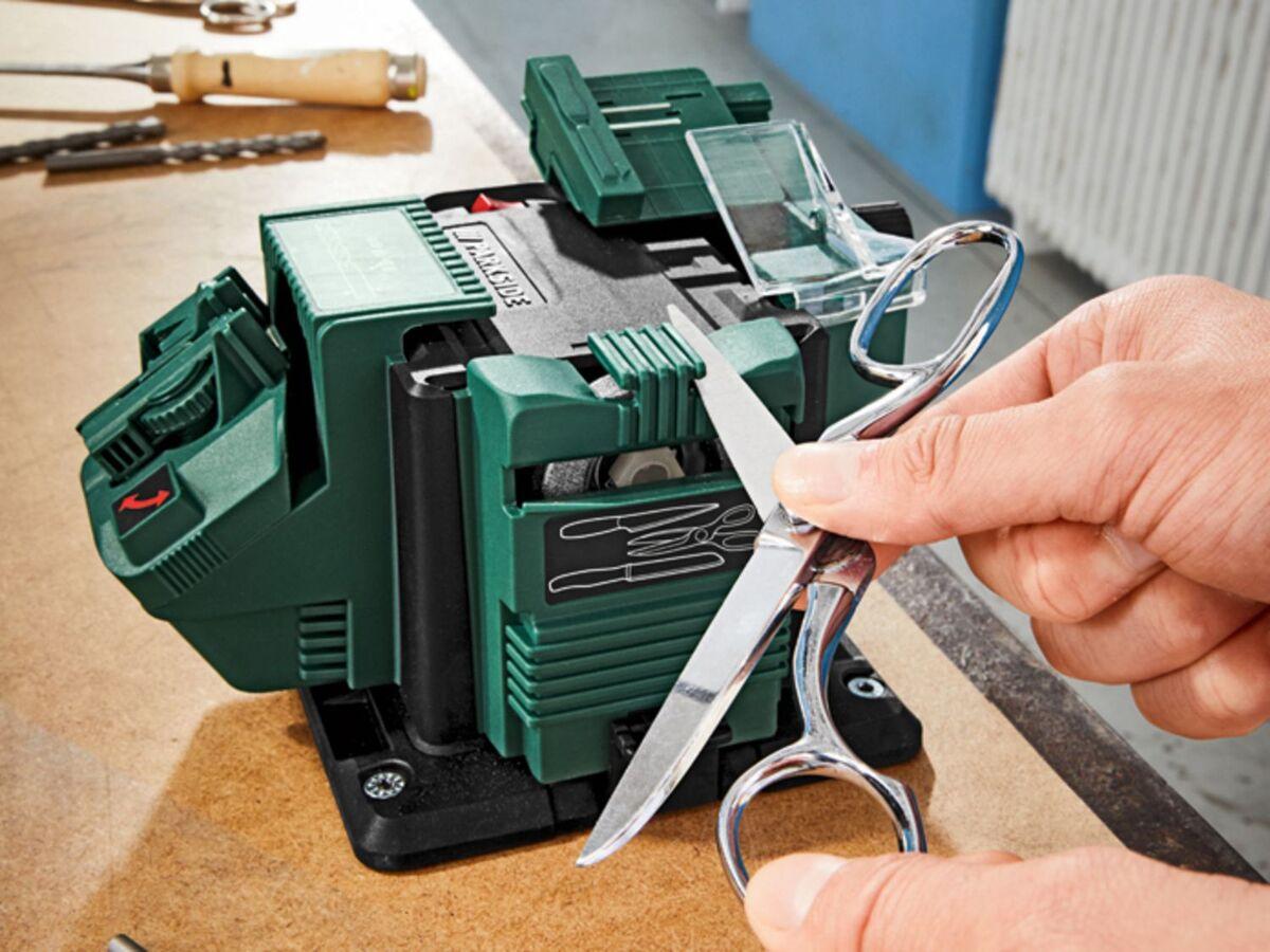 Bild 12 von PARKSIDE® Schärfstation »PSS 65«, 65 Watt, mit Funkenschutz, inklusive 3 Aufsätzen