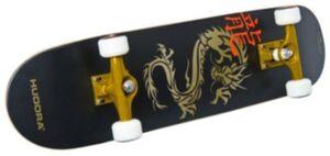 """Skateboard ABEC 7 """"Golden Dragon"""" schwarz"""