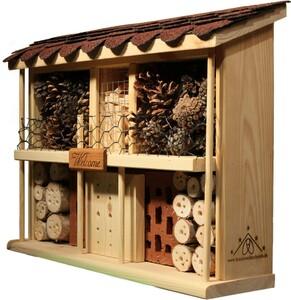 """Luxus-Insektenhotel Bausatz """"Landhaus Komfort"""""""