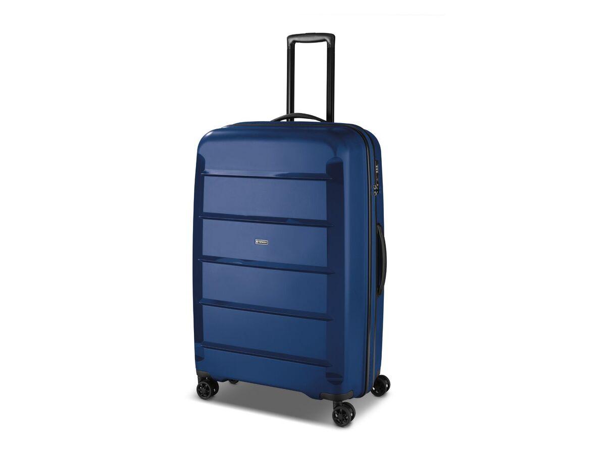 Bild 5 von TOPMOVE® Koffer, 90 L Volumen, bis 28 kg Füllgewicht, 4 Rollen, Polypropylen-Schale, blau