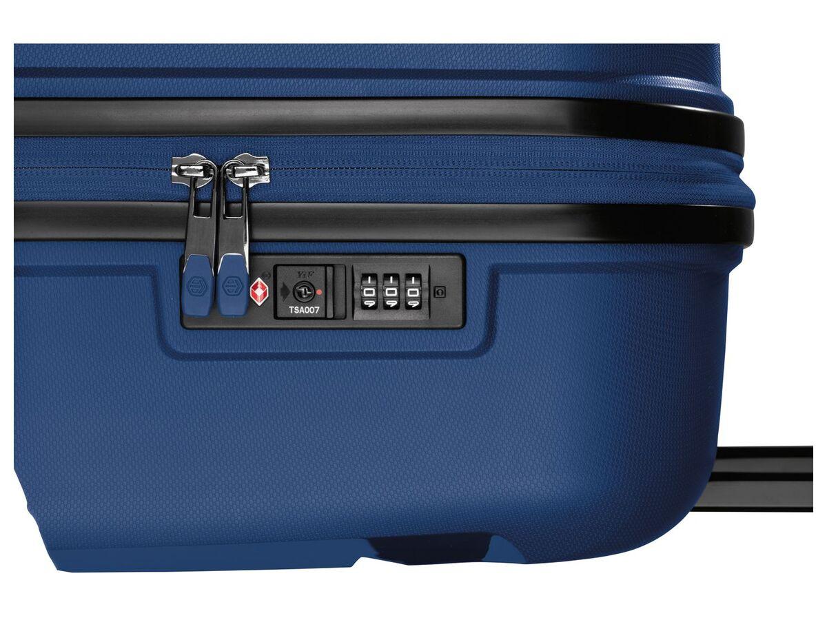 Bild 6 von TOPMOVE® Koffer, 90 L Volumen, bis 28 kg Füllgewicht, 4 Rollen, Polypropylen-Schale, blau