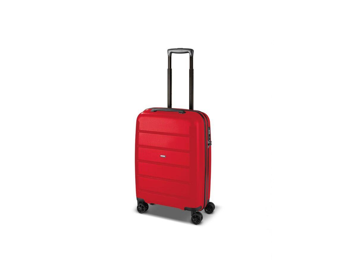 Bild 3 von TOPMOVE® Koffer, 30 L Volumen, bis 10 kg Füllgewicht, 4 Rollen, Polypropylen-Schale, rot