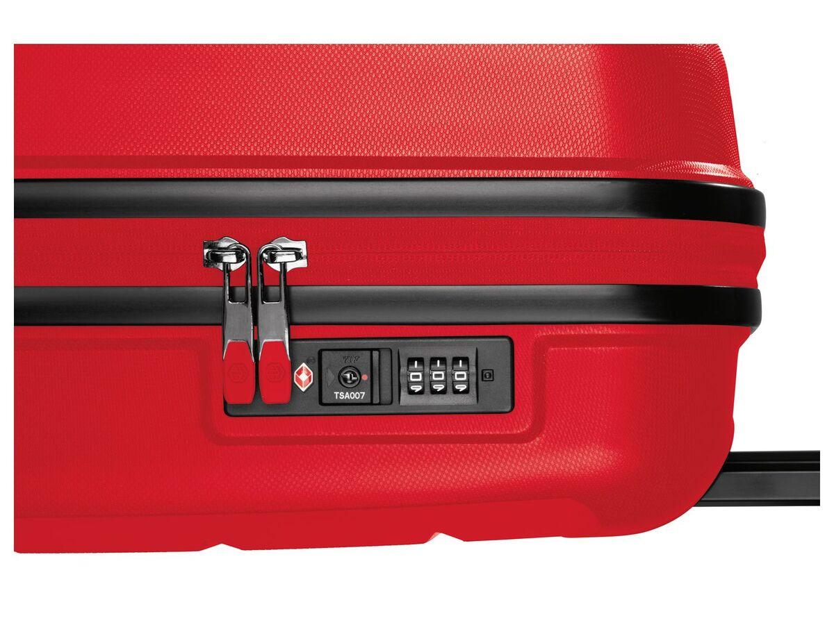 Bild 6 von TOPMOVE® Koffer, 30 L Volumen, bis 10 kg Füllgewicht, 4 Rollen, Polypropylen-Schale, rot