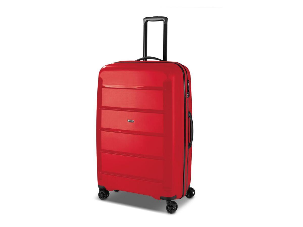 Bild 3 von TOPMOVE® Koffer, 90 L Volumen, bis 28 kg Füllgewicht, 4 Rollen, Polypropylen-Schale, rot