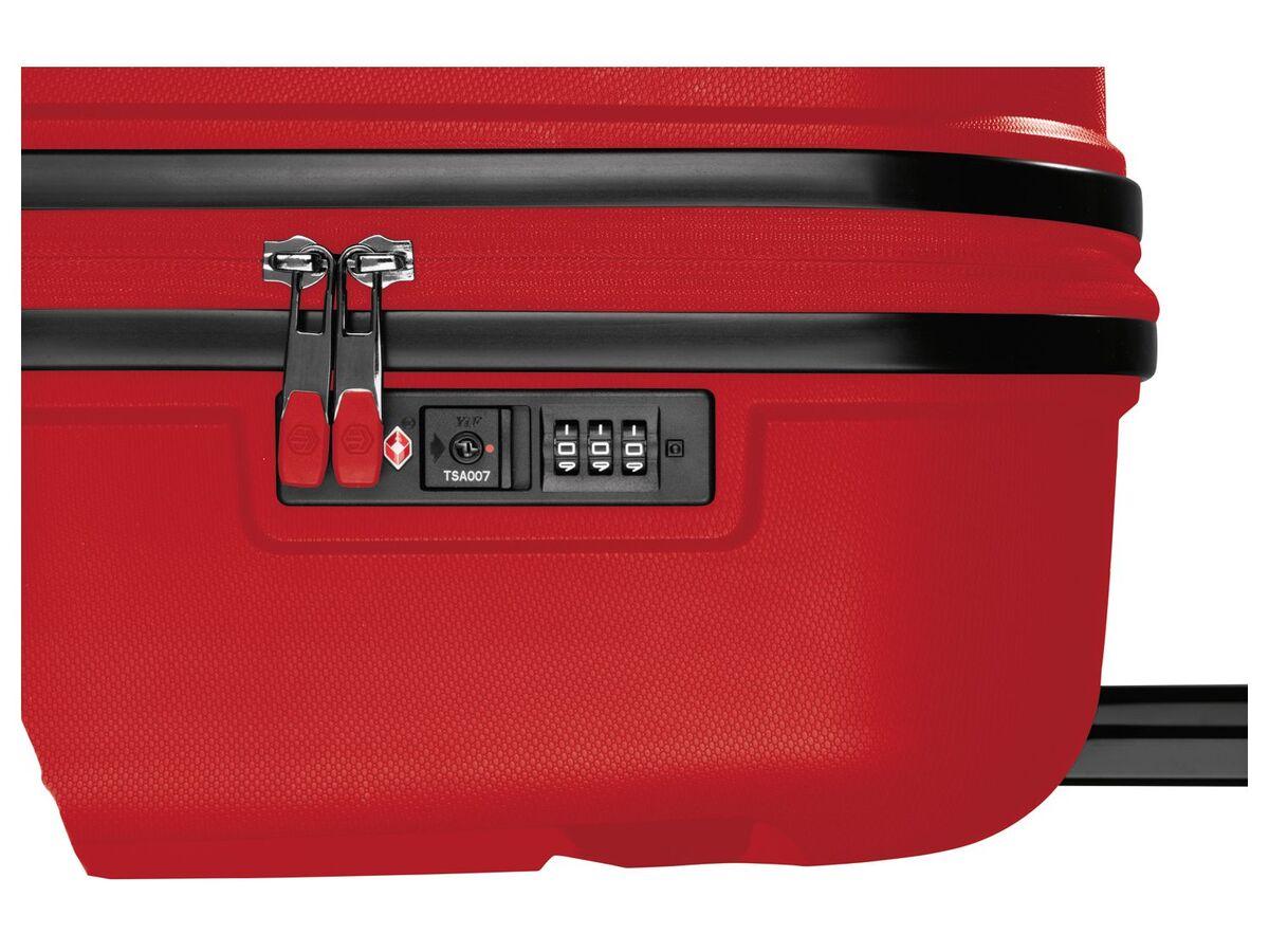 Bild 6 von TOPMOVE® Koffer, 90 L Volumen, bis 28 kg Füllgewicht, 4 Rollen, Polypropylen-Schale, rot