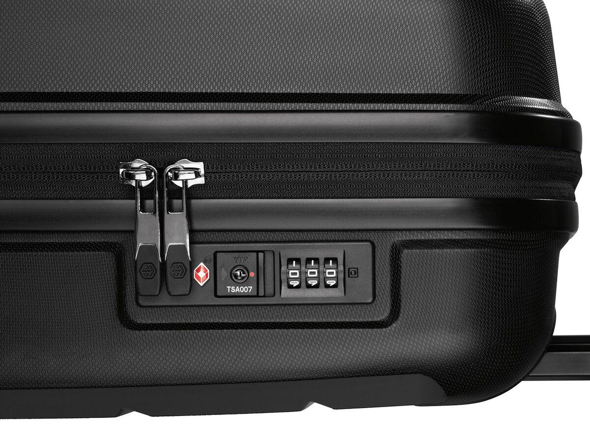 Bild 7 von TOPMOVE® Koffer, 30 L Volumen, maximal 10 kg Füllgewicht, mit 4 Rollen, schwarz