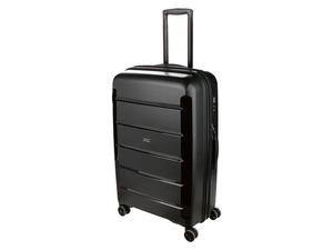 TOPMOVE® Koffer, 90 L Volumen, maximal 28 kg Füllgewicht, mit 4 Rollen, schwarz
