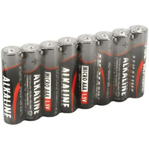 Alkaline - AAA Batterien - 8 Stück
