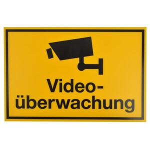 Schild 300x200mm Videoüberwachung