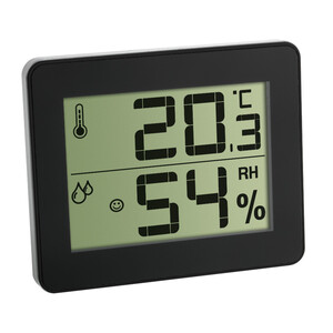 TFA Digitales Thermo Hygrometer im ultra flachen Design