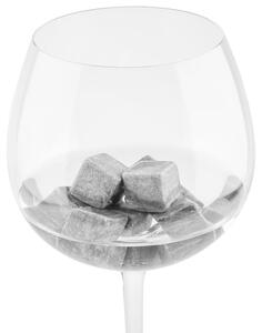 Mehrweg-Eiswürfel Chilling Stones in Dunkelrau