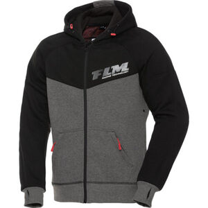 FLM            Sports Hoodie mit Protektoren 1.0 schwarz/grau