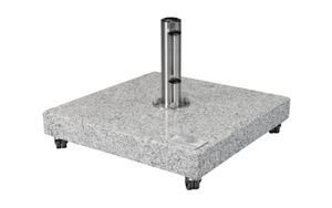 Doppler - Granitplatte hellgrau poliert