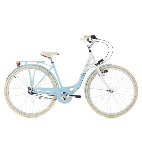 KS Cycling Damenfahrrad Cityrad Belluno 7 Gänge, 28 Zoll