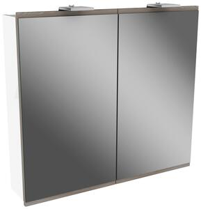 Spiegelschrank in Weiss inkl. Beleuchtung 'Lima'