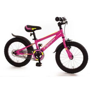 Fahrrad - PEPP - 16 Zoll - pink/neon gelb