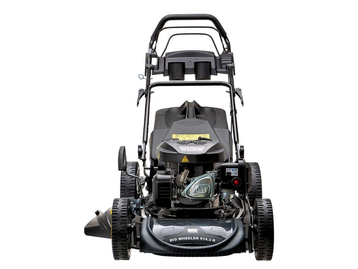 Bild 3 von Güde Benzinrasenmäher »Big Wheeler 514 7in1», 4-Takt-Motor, 3,4 PS, Rasenflächen bis 1800 qm