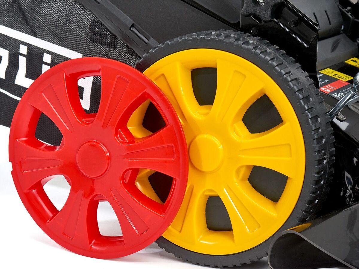 Bild 5 von Güde Benzinrasenmäher »Big Wheeler 514 7in1», 4-Takt-Motor, 3,4 PS, Rasenflächen bis 1800 qm