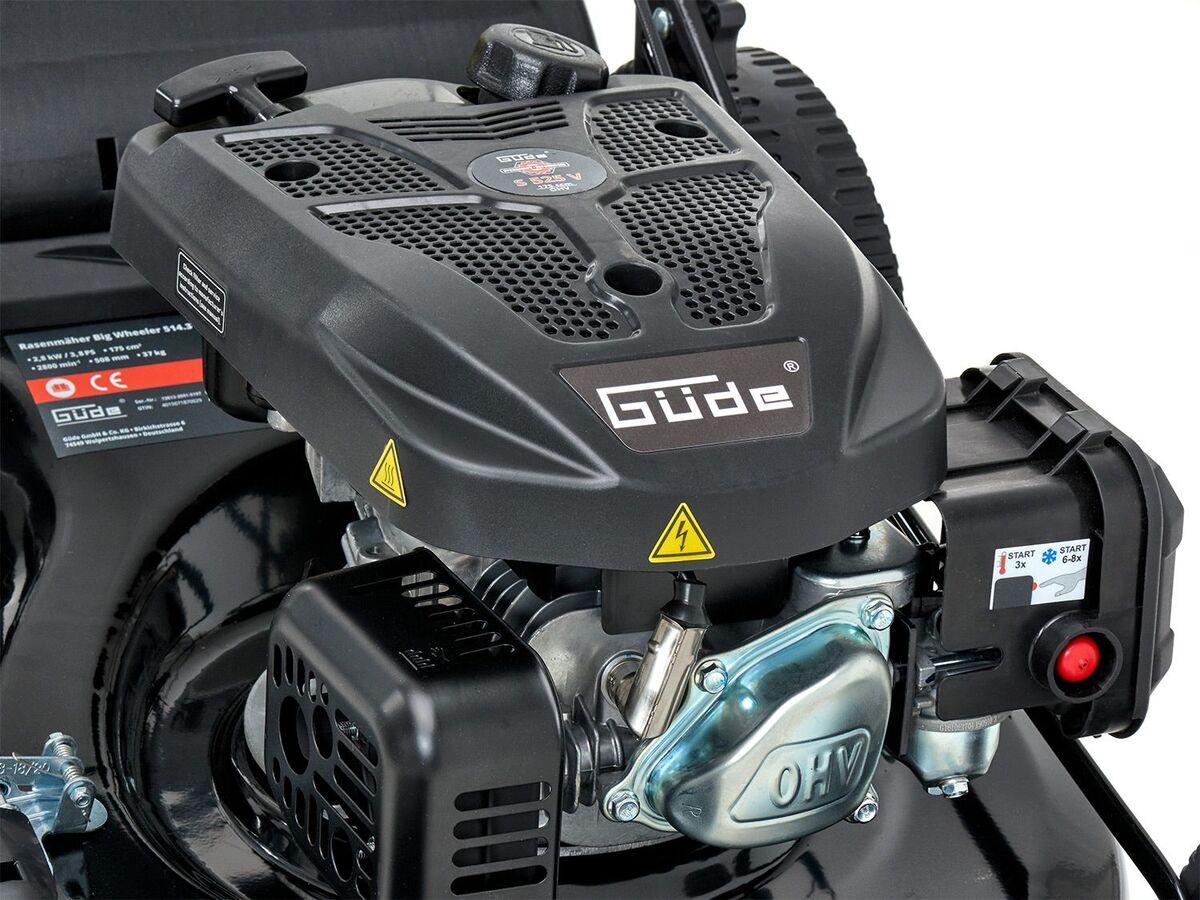 Bild 11 von Güde Benzinrasenmäher »Big Wheeler 514 7in1», 4-Takt-Motor, 3,4 PS, Rasenflächen bis 1800 qm