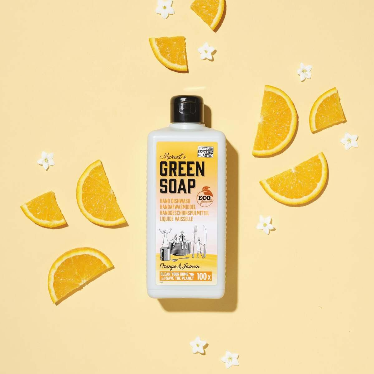 Bild 1 von Marcel's Green Soap Handgeschirrspülmittel Orange & Jasmine