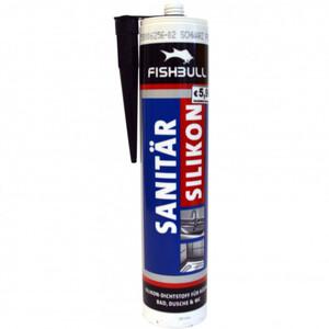 Fishbull Sanitär Silikon 300 ml schwarz