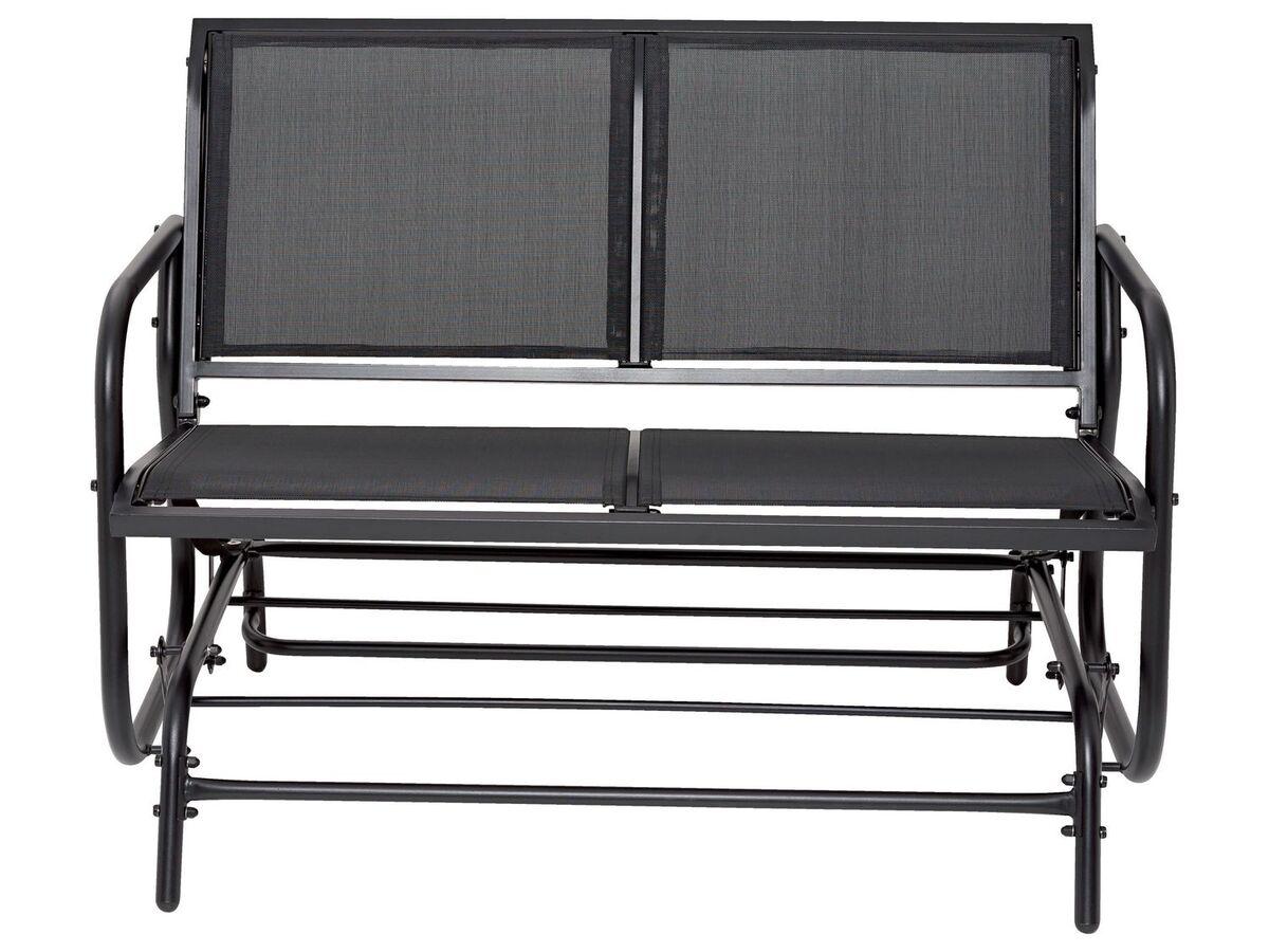 Bild 4 von FLORABEST Schaukelbank, 2-Sitzer, 220 kg Belastbarkeit, mit Textilbespannung, aus Aluminium