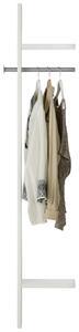 Garderobenpaneel in Weiß
