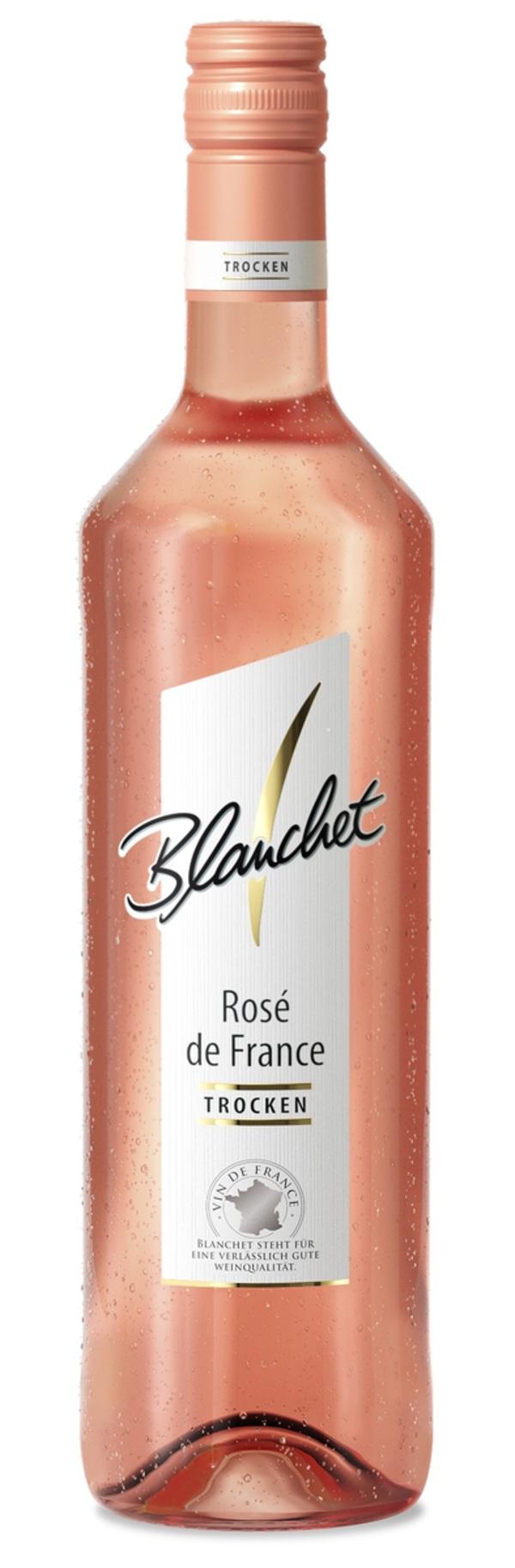 Blanchet Rosé de France Roséwein Trocken 0,75 ltr