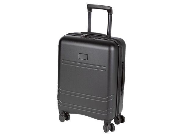 TOPMOVE® Handgepäckkoffer, 29 l Volumen, 10 kg Füllgewicht, mit Polycarbonat-Schalen