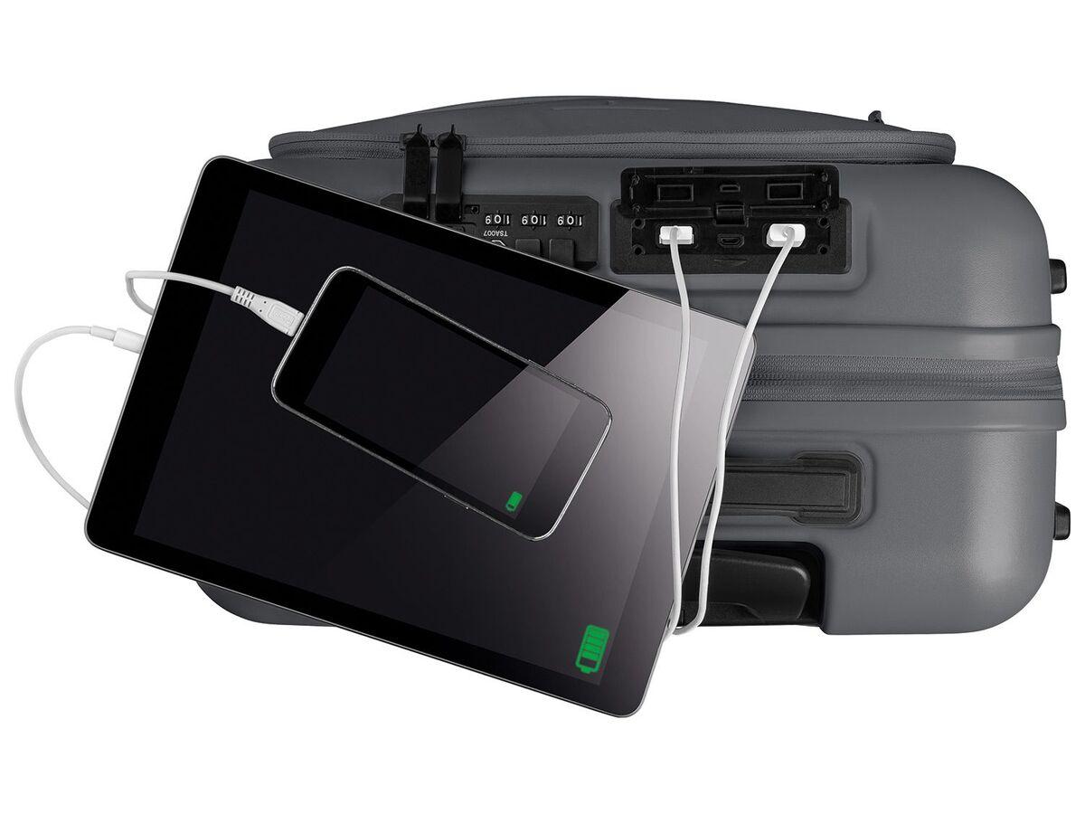 Bild 7 von TOPMOVE® Handgepäckkoffer 30L grau